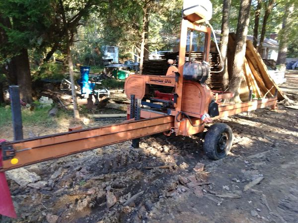 Portable Sawmill For Sale >> Woodmizer Lt40 Portable Sawmill For Sale In Chesterfield Va Offerup