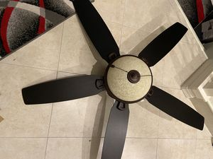 Photo Hunter ceiling fan. 54 with remote