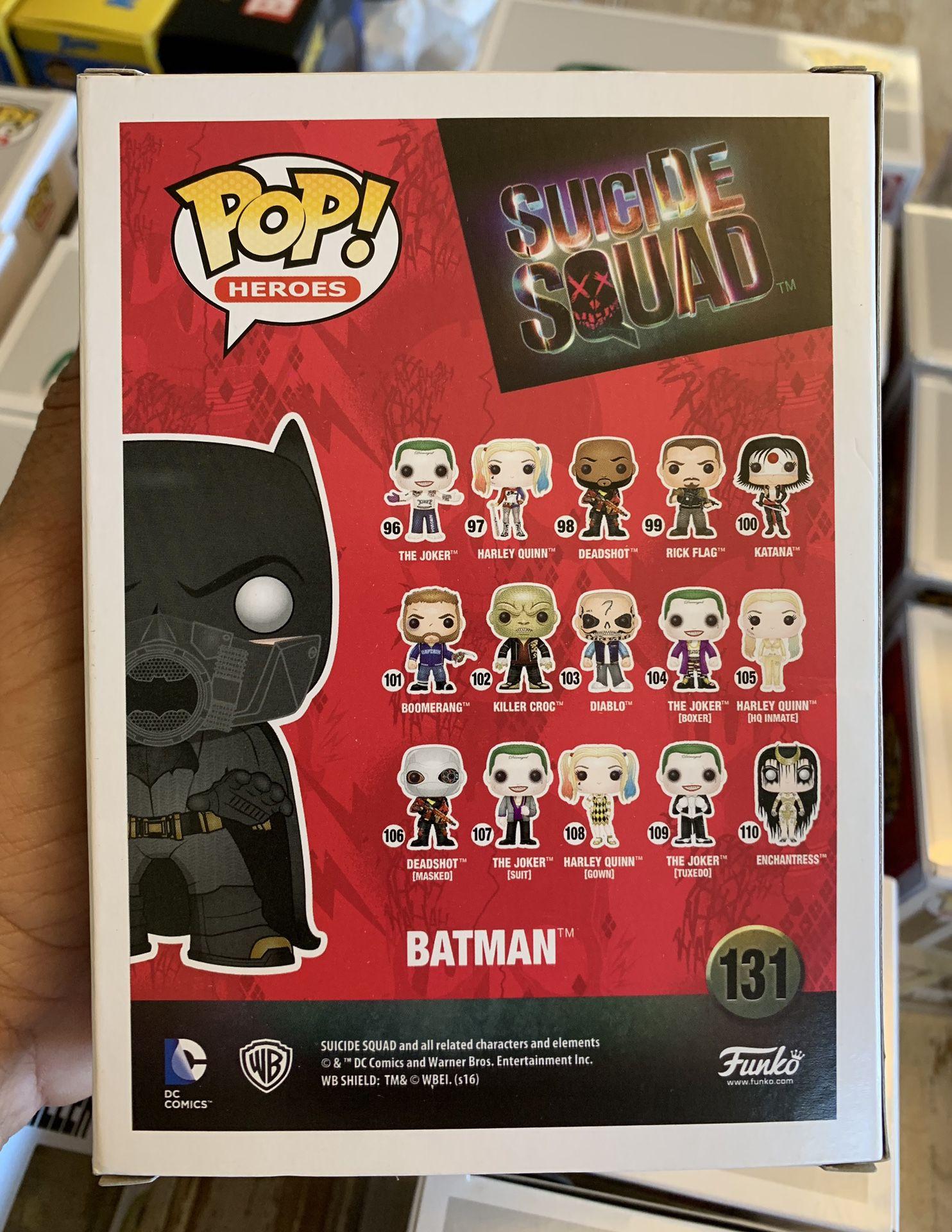 Funko Pop! Suicide Squad SDCC 2016 Batman #131