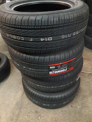 4 New 205-65-16 Federal Formoza FD2 Tires ** Free Install for Sale in Philadelphia, PA