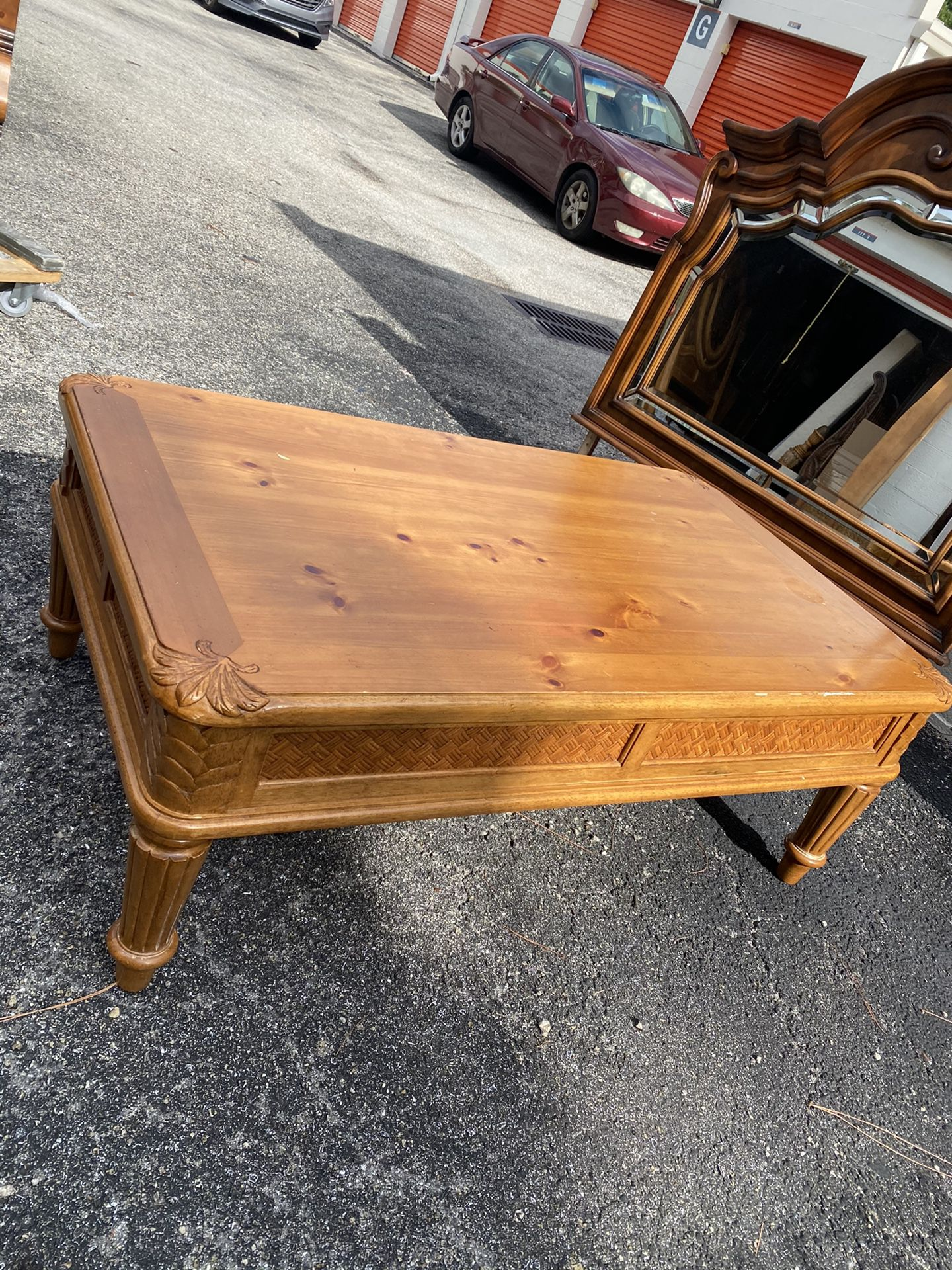 Tropical Style Coffee Table