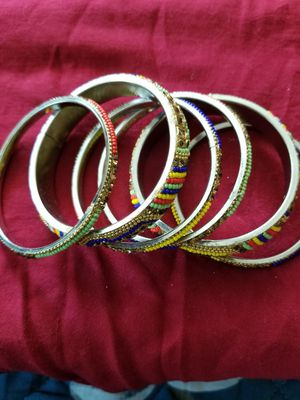 Indian gold plated bangles for Sale in San Francisco, CA