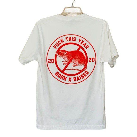 Brand New Born x Raised Fuck This Year T Shirt