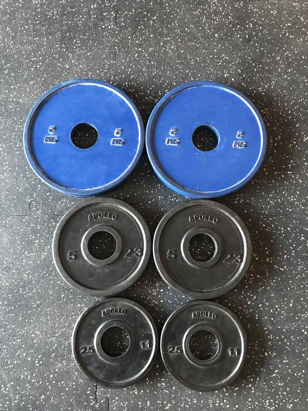 Brand New Apollo Fitness 23 82Lb Change Plate Set for Sale in Murrieta, CA  - OfferUp