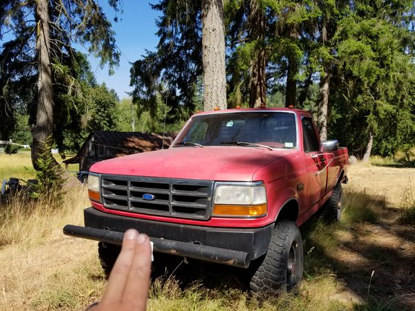 1993 Ford F350 4x4 7 3L diesel 5 speed manual for Sale in Gig Harbor, WA -  OfferUp