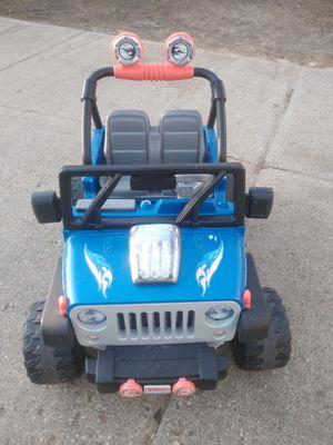 Photo Power Wheels Jeep 12v.