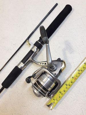"fc88bf2153d Daiwa KASTOR 2500 Spinning Fishing Reel & Berkley Graphite 6'6"" Rod 2 Piece"