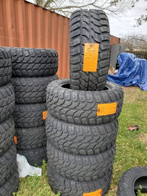 Photo 33X12.50X20 NEW MUD TIRES FOR 680 DOLLARS WITH EVERYTHING INCLUDED TAX INCLUDED FINANCING AVAILABLE NO CREDIT CHECK, 90 DAYS SAME AS CASH