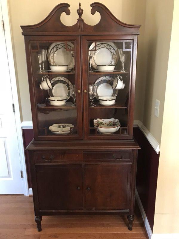 Elegant Antique China Cabinet Hardware