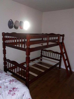 Brand New Twin Size Cherry Wood Bunk Bed (New in Box) for Sale in Silver Spring, MD