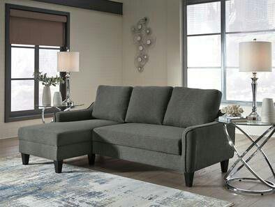 Jarreau Gray Sofa Chaise Sleeper Couch Sofa