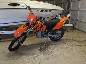 Photo KTM 450 EXC plated 2004