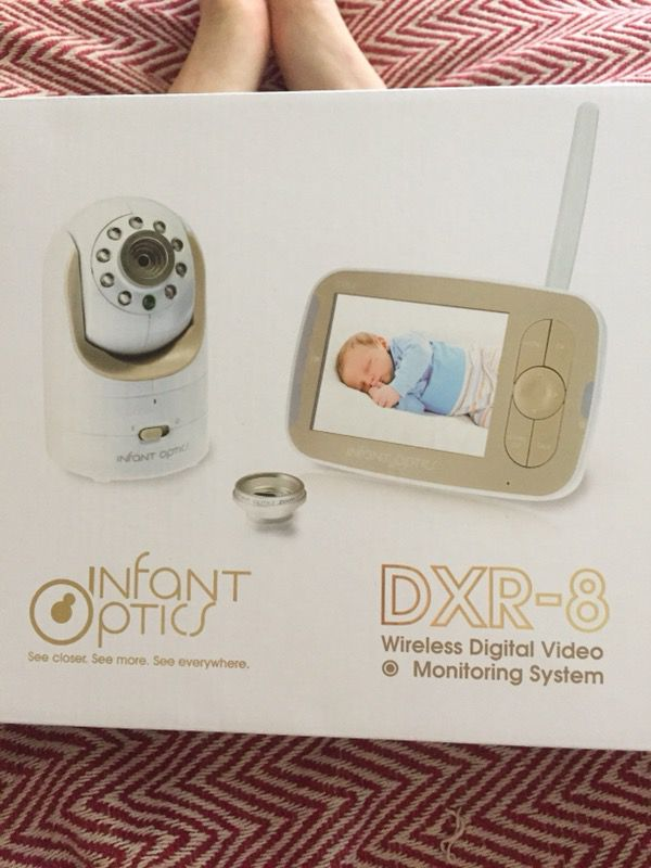 96781624a12b Infant Optics DXR-8 Video Baby Monitor with Interchangeable Optical Lens  for Sale in Los Angeles