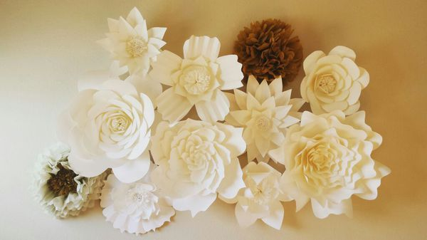 Giant 3d Paper Flower Wall Backdrop Wedding For Sale In Plano Tx