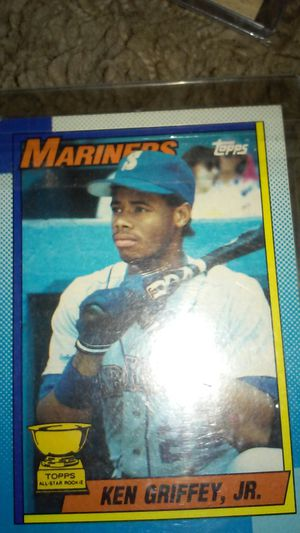 c20dc3f0e7 Ken Griffey Jr. Rookie Card topps #336 for Sale in Oklahoma City, OK -  OfferUp
