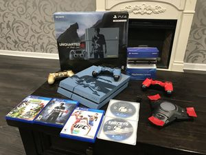 PS4 uncharted 4 bundle for Sale in Gaithersburg, MD