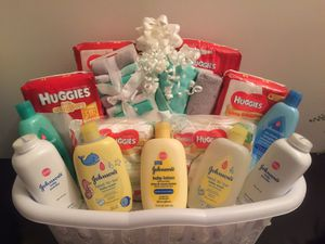 Ultimate baby gift basket $90.00 firm on price for Sale in Parkland, FL