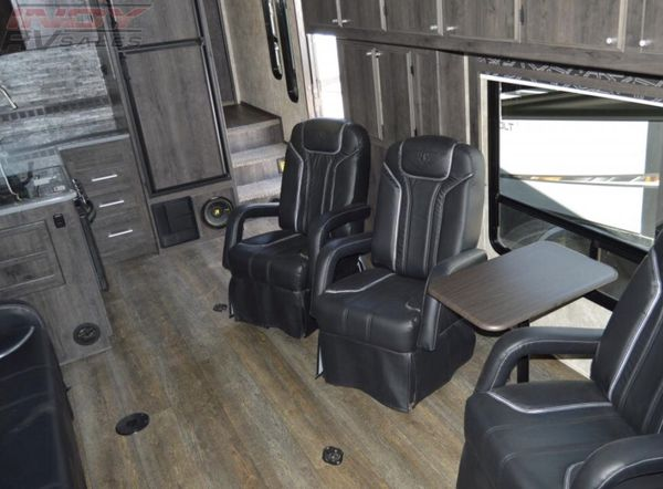 2 brand new attitude toy hauler captain chairs for Sale in Henderson, NV -  OfferUp