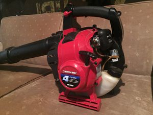 Troy Bilt 4 cycle leaf blower for Sale in Raleigh, NC