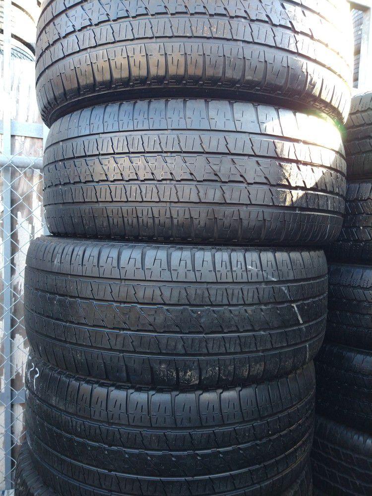 Tengo Un Set De Llantas 285 45 22 La Marca Bridgestone Te Las Doy Montadas Balanceadas Usaras Buenas Condiciones 180 Por Las 4