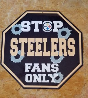 Steelers Stop Sign for Sale in Las Vegas, NV