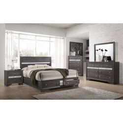 4PC Queen Bedroom Set Thumbnail