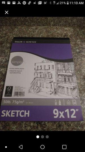 """9*12"""" sketch paper for Sale in Pomona, CA"""