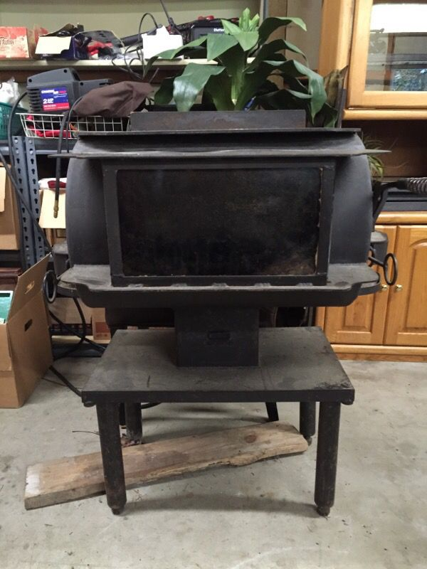 Wood Burning Stove 750 00 Obo For Sale In Snohomish Wa