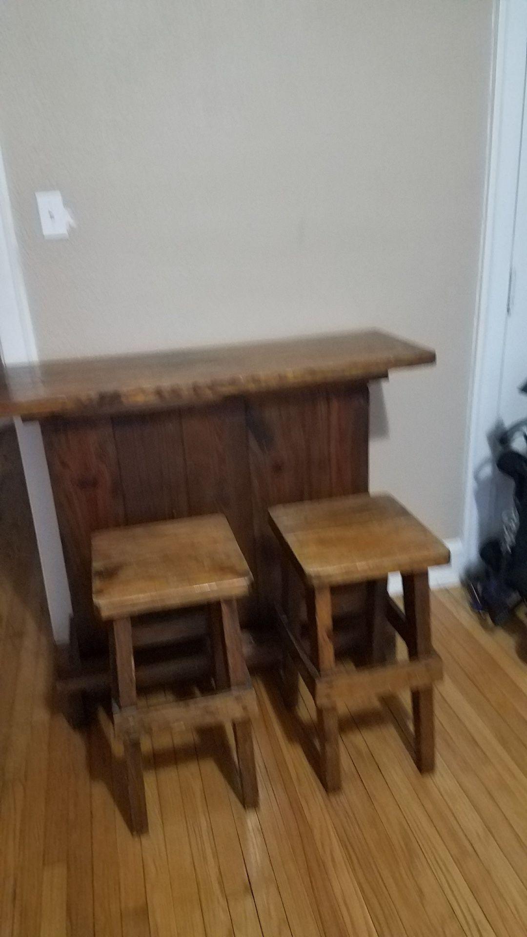 3pc Quality Wood Bar Set