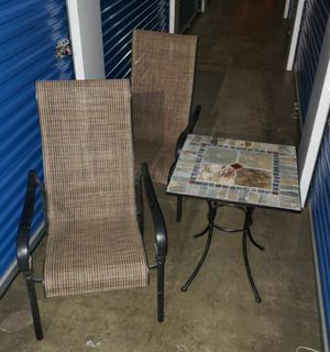 Patio Table and Chair for Sale in Chantilly, VA