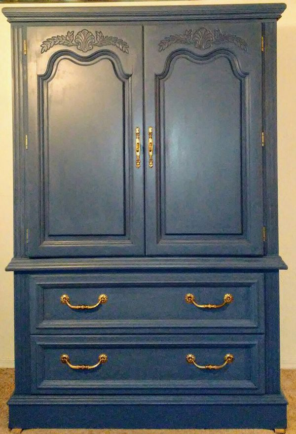 no chest navy wings drawers pin roots blue furniture and antique blog of