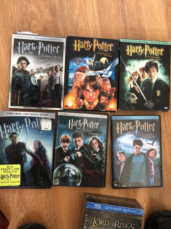 Harry Potter movies-6 for Sale in Long Beach, CA - OfferUp
