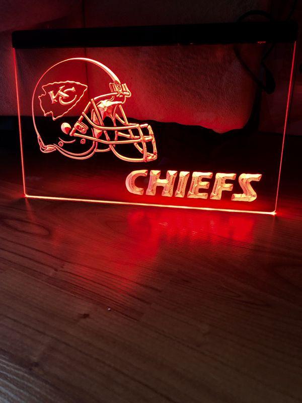 Kansas City Chiefs Led Neon Light Sign 8x12 For Sale In La Mirada