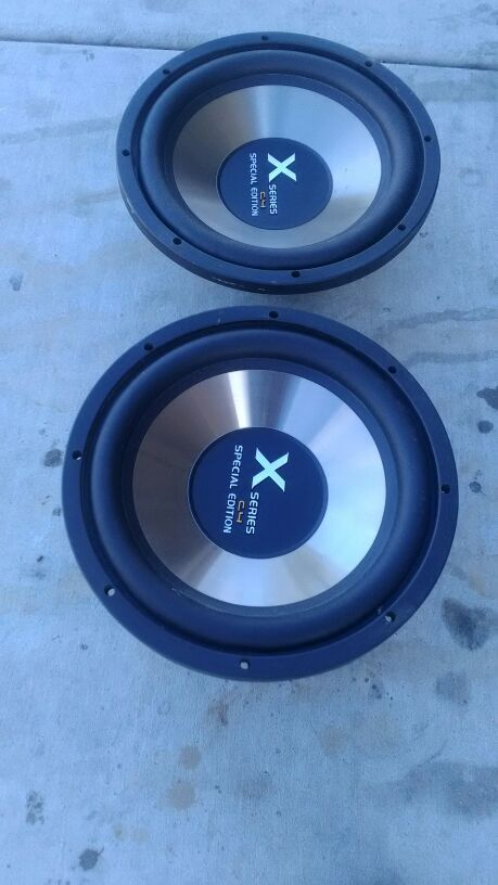 C4 special edition subwoofer
