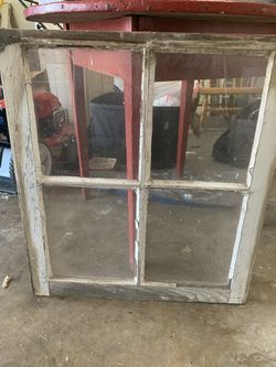 Antique windows for sale ! Perfect for distressing and painting Thumbnail