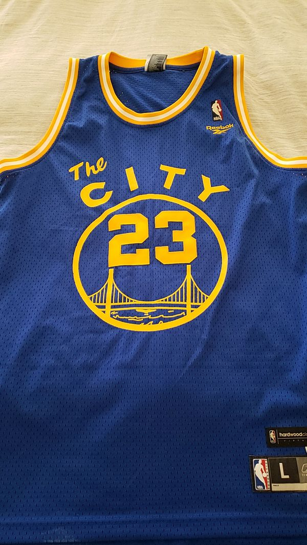 pretty nice 89a73 44ec2 Authentic NBA Jersey Golden State Warriors The City Jason Richardson size L  for Sale in San Marcos, CA - OfferUp