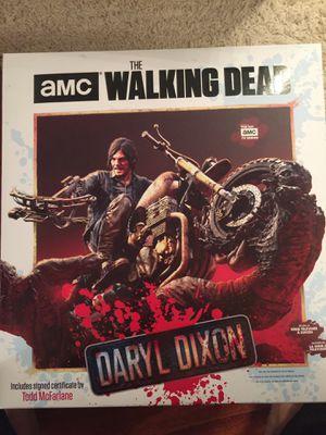McFarlane Walking Dead Daryl Dixon on Bike Statue for Sale in Rockville, MD