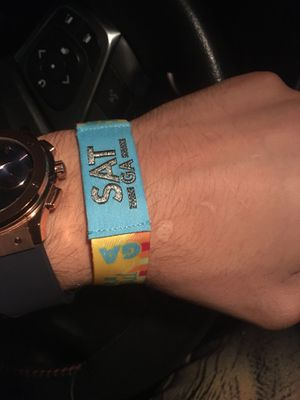 1 Life is Beautiful Saturday Wristband for Sale in Las Vegas, NV