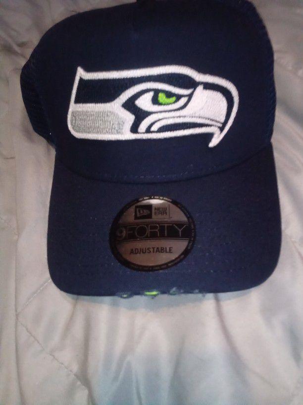 3 Seahawks Hats
