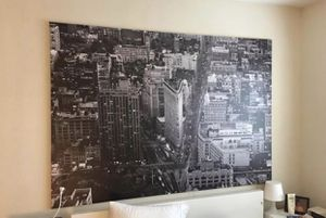 IKEA NYC Flatiron Building Black/White Oversized Canvas Wall Print for Sale in East Saint Louis, IL