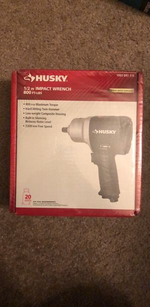 Husky impact wrench h4480 for Sale in Highland Beach, MD