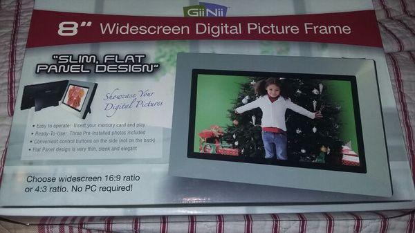 Giinii 8 Widescreen Digital Picture Frame For Sale In La Porte Tx