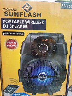 Bluetooth Portable speaker with lights $34.99 / with out lights $31.99 for Sale in Los Angeles, CA
