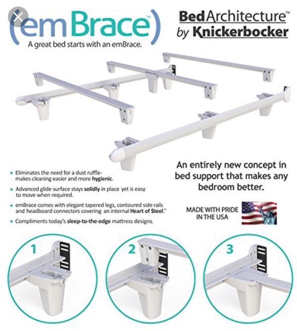 Queen Size Bed Frame: Embrace Made By Knickerbocker for Sale in San ...