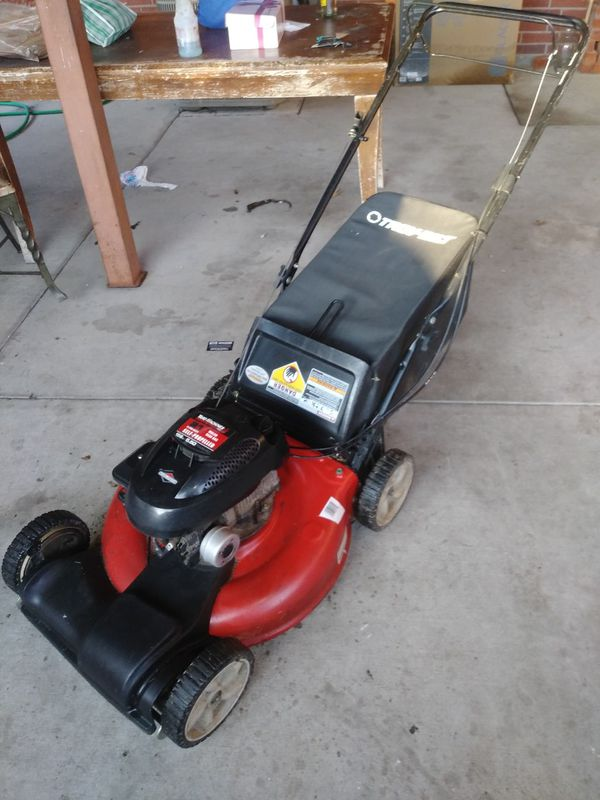 Lawn Mower Yard Machines Self Propelled Runs And Cuts For