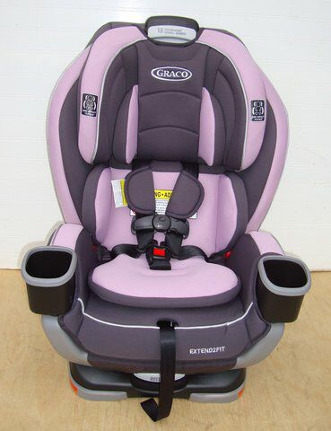 Graco Extend2Fit Convertible Car Seat - Pink - Never Used (Baby ...