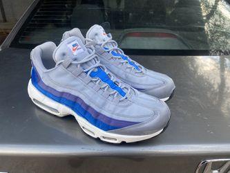 Nike Air Max 95 Blue New Size 10.5 Men Thumbnail