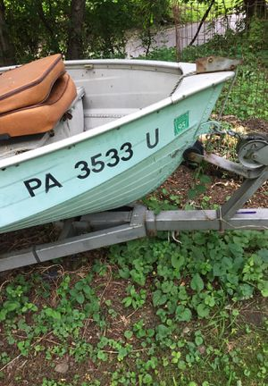 Boat and trailer for Sale in Pittsburgh, PA