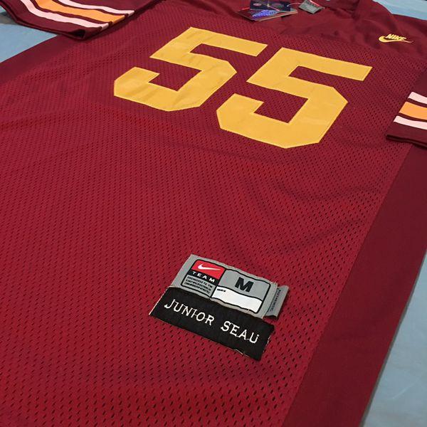 info for 1265b 80082 #55 Junior Seau USC Trojans Football Jerseys Sizes M/L for Sale in Chula  Vista, CA - OfferUp