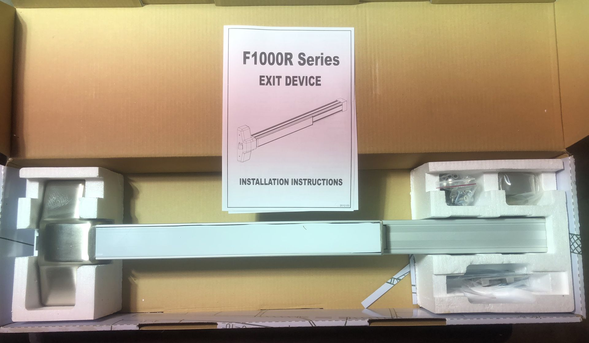 Design Hardware Commercial Exit Devices
